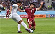 هدف أوزباكستان فى قطر