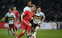 أهداف مباراة روسيا وبلجيكا