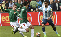 هدفا بوليفيا فى الأرجنتين