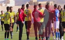احداث شغب في لقاء تطاوين والبنزرتي بالدوري التونسي