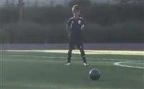إبن كريستيانو يسجل هدف رائع على طريقة أبيه