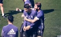 ضحك في تدريبات ريال مدريد قبل الكلاسيكو