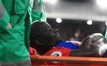 إصابة قوية لساكو لاعب كريستال بالاس امام توتنهام