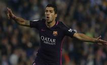 خطأ ساذج من لاعب اسبانيول يهدي سواريز هدف