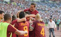 أهداف مباراة روما وجنوة