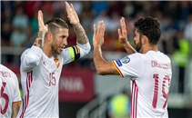 أهداف مباراة مقدونيا واسبانيا