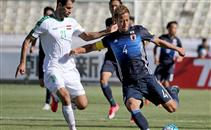 هدفا مباراة العراق واليابان