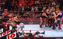 أبرز 10 لقطات فى WWE