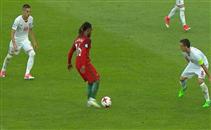 هدفا البرتغال فى صربيا بيورو الشباب