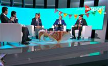 شلبي يسأل فاروق جعفر ونور الدين عن مسلسلاتهم المف