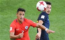 هدفا مباراة تشيلي واستراليا