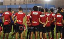 مران الأهلي استعدادا للفيصلي بالبطولة العربية