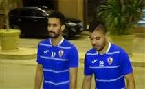 وصول الزمالك فندق الإقامة استعدادا للبطولة العربية