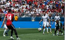مارسيال يتلاعب بدفاع الريال ويهدي لينجارد هدف