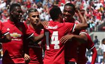 ركلات جزاء وأهداف مباراة الريال و اليونايتد