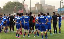 مران الأهلي استعداداً لنصر حسين داي