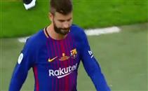 صافرات جماهير ريال مدريد ضد بيكيه