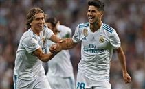 هدفا ريال مدريد في برشلونة