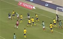 حارس الاتفاق يصنع هدف التعادل القاتل امام النصر