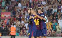 هدفا برشلونة في ريال بيتيس