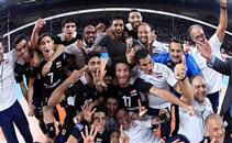 طائرة: فرحة لاعبي مصر بالفوز علي بولندا