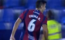هدف رائع لتشيما لاعب ليفانتي امام ريال سوسيداد