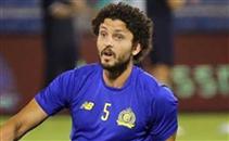 إصابة حسام غالي قبل مباراة النصر والفيحاء