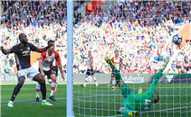 هدف مانشستر يونايتد في ساوثهامبتون