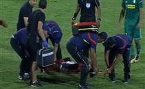 إصابة عمرو مرعي أمام أهلي طرابلس