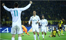 أهداف مباراة بروسيا دورتموند وريال مدريد