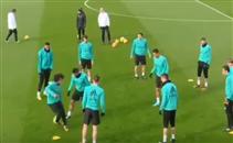 مهارة مارسيلو فى تدريبات ريال مدريد
