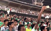 جماهير أهلي جدة تحتفل بعبد الشافي