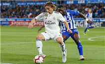 هدف ألافيس في ريال مدريد