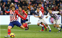 أهداف مباراة بلد الوليد وأتلتيكو مدريد