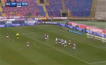 هدف رائع من لاعب بولونيا فى ساسولو