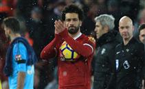 تحية جماهير ليفربول لمحمد صلاح