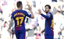 هدفا برشلونة في اتليتك بلباو