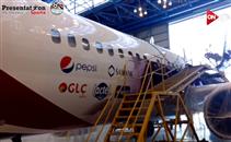 مراحل تجهيز طائرة منتخب مصر