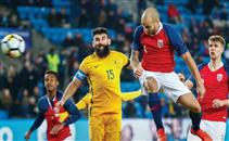 أهداف مباراة النرويج وأستراليا