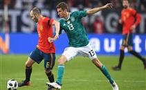 هدفا مباراة ألمانيا وأسبانيا