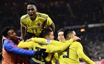 أهداف مباراة فرنسا وكولومبيا
