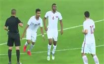 هدف رائع لعبد العزيز حاتم لاعب قطر في سوريا