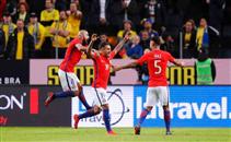 أهداف مباراة السويد وتشيلي