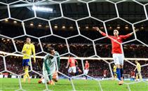 ملخص مباراة السويد وتشيلي