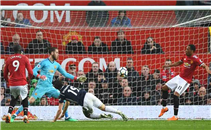 هدف ويست بروميتش في مانشستر يونايتد