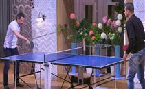 لقاء بين سعد وبركات في تنس الطاولة