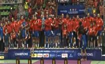 تتويج الأهلي بطلاً لكأس افريقيا لكرة اليد