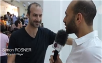 مروان الشوربجي يتحول لمراسل ببطولة الجونة للأسكواش