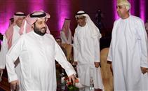 وصول تركى آل الشيخ لحضور قرعة البطولة العربية