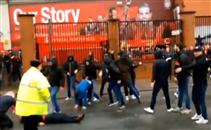 اشتباكات جماهير ليفربول وروما قبل مواجهتهما